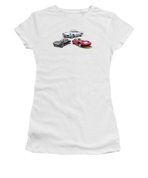 Corvette Generation Women's T-Shirt