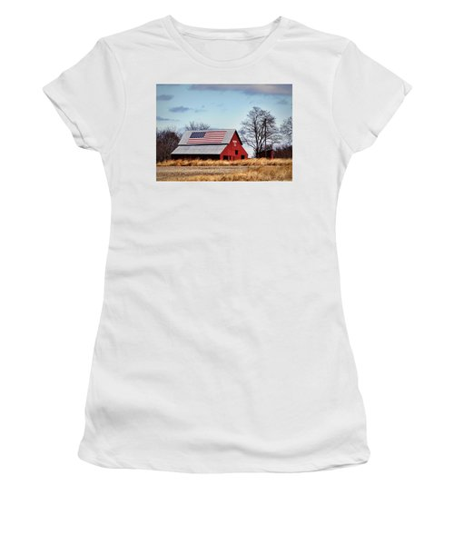 Country Pride Women's T-Shirt (Athletic Fit)