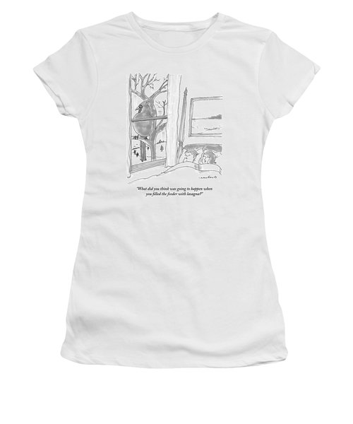 Couple In Bed Women's T-Shirt