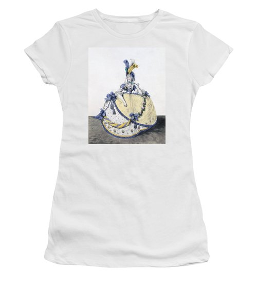 Court Dress, Fig. 106 From The Gallery Women's T-Shirt