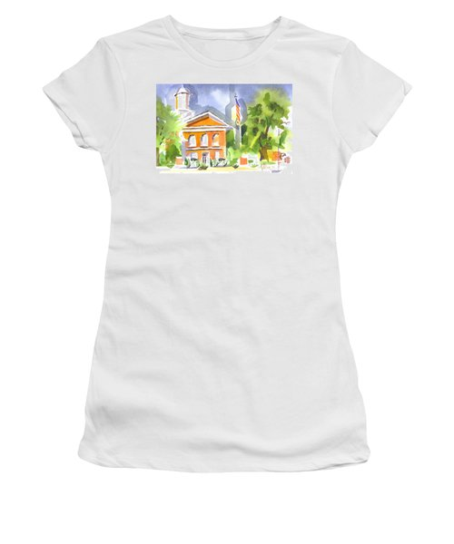 Courthouse Abstractions II Women's T-Shirt
