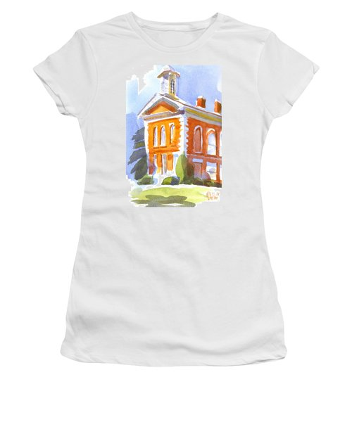 Courthouse In Early Morning Sunshine II Women's T-Shirt