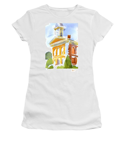 Courthouse In Early Morning Sunshine Women's T-Shirt