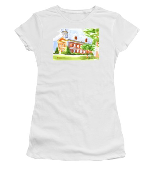 Courthouse In Summery Sun Women's T-Shirt