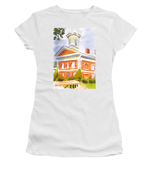 Courthouse With Picnic Table Women's T-Shirt