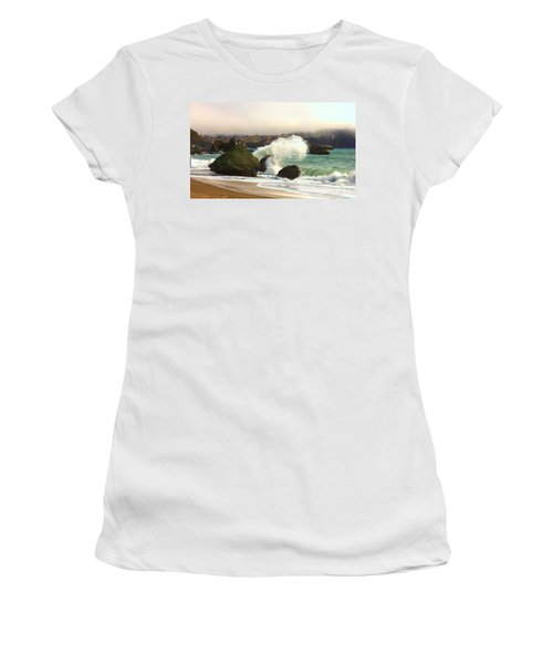 Crashing Waves Women's T-Shirt
