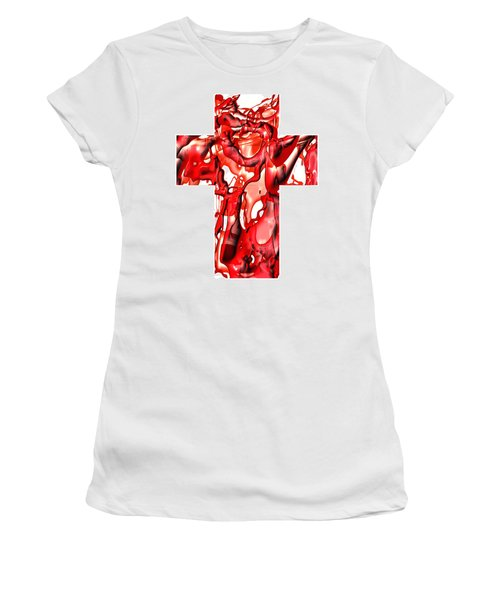 Cross... The Line Women's T-Shirt