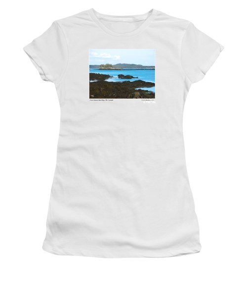 Crow Island Bay Of Fundy Nb Women's T-Shirt
