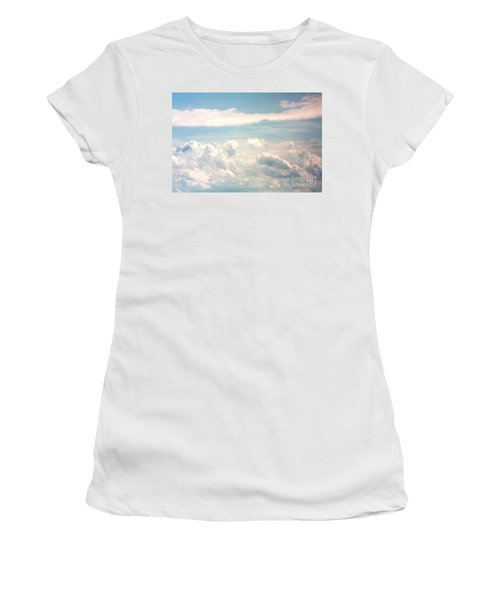 Cumulus Clouds Women's T-Shirt (Athletic Fit)