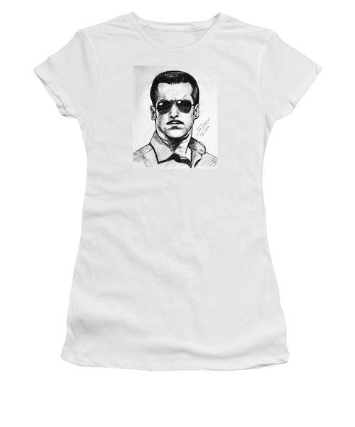 Salman Khan Women's T-Shirt (Junior Cut) by Salman Ravish