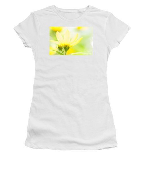 Daisies In The Sun Women's T-Shirt (Athletic Fit)