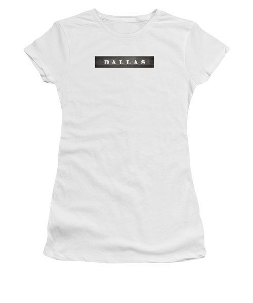 Dallas Women's T-Shirt (Athletic Fit)