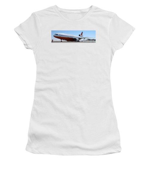 Dc-10 Air Tanker At Rapid City Women's T-Shirt