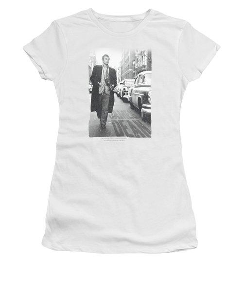 Dean - On The Street Women's T-Shirt (Junior Cut) by Brand A