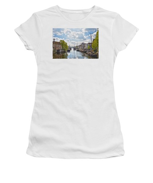 Delfshaven Rotterdam Women's T-Shirt (Athletic Fit)