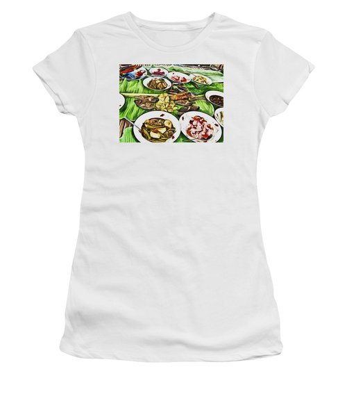 Deliciously Fresh Women's T-Shirt (Athletic Fit)