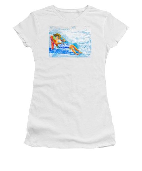 Dena At The Beach Women's T-Shirt