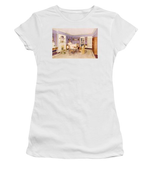 Design For The Interior Of A Bedroom Women's T-Shirt