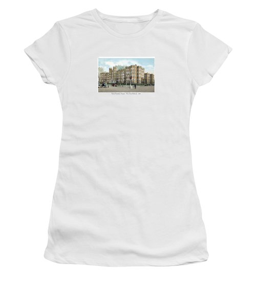 Detroit - Providence Hospital - West Grand Boulevard - 1926 Women's T-Shirt (Athletic Fit)