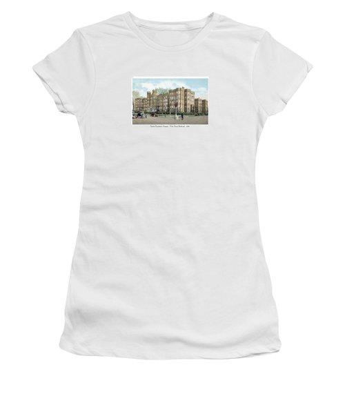 Detroit - Providence Hospital - West Grand Boulevard - 1926 Women's T-Shirt (Athletic Fit)