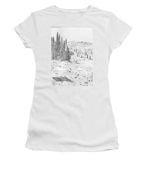 Devil's Castle Women's T-Shirt (Athletic Fit)