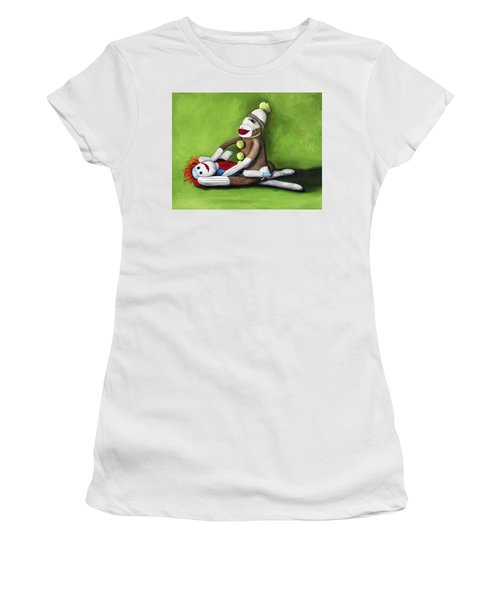 Dirty Socks Women's T-Shirt (Athletic Fit)