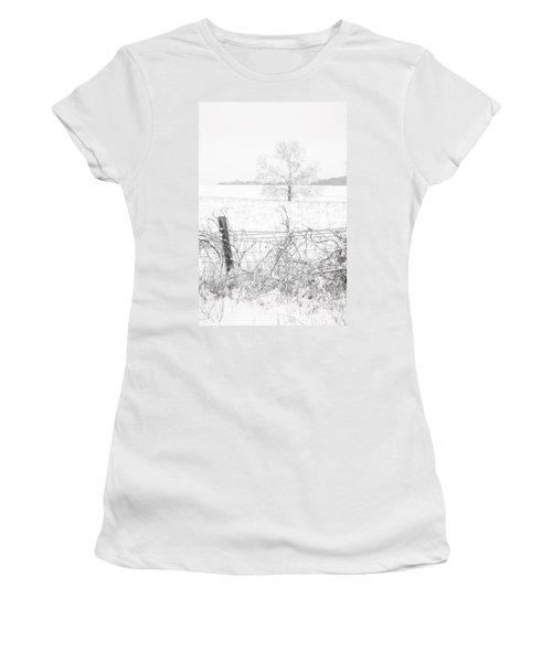Distant Tree Women's T-Shirt (Athletic Fit)