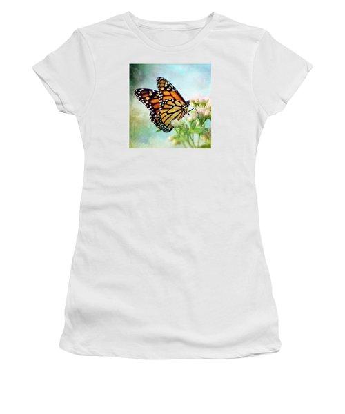 Women's T-Shirt (Junior Cut) featuring the photograph Divine Things by Kerri Farley