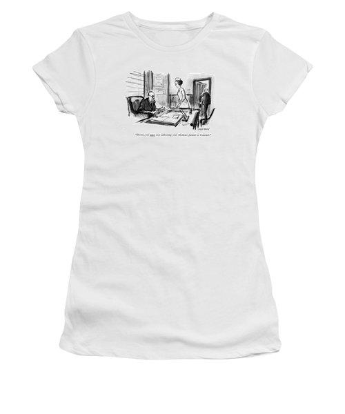 Doctor, You <u>must<$> Stop Addressing Women's T-Shirt