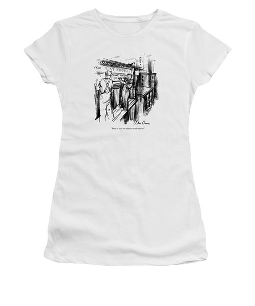 Does 'ex' Take The Ablative Or The Dative? Women's T-Shirt