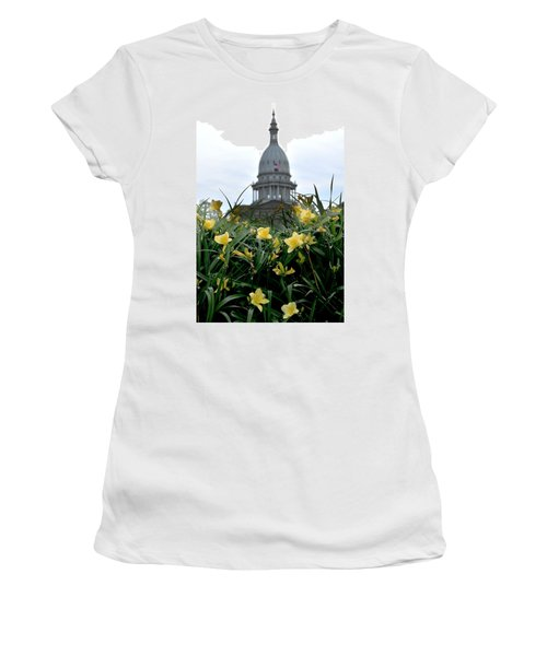 Dome Through The Daffodils Women's T-Shirt (Athletic Fit)