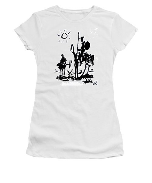 Don Quixote Women's T-Shirt (Athletic Fit)