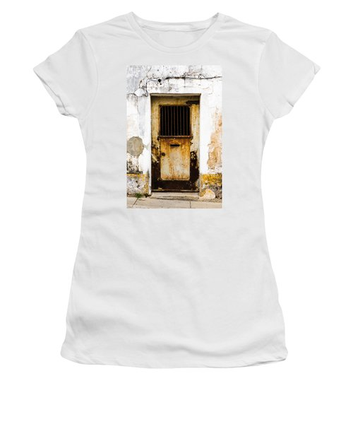 Door No 48 Women's T-Shirt (Athletic Fit)