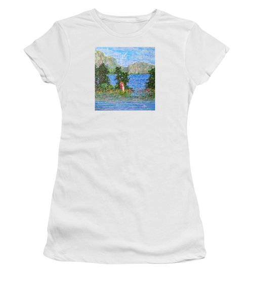 Down By The River Women's T-Shirt (Athletic Fit)