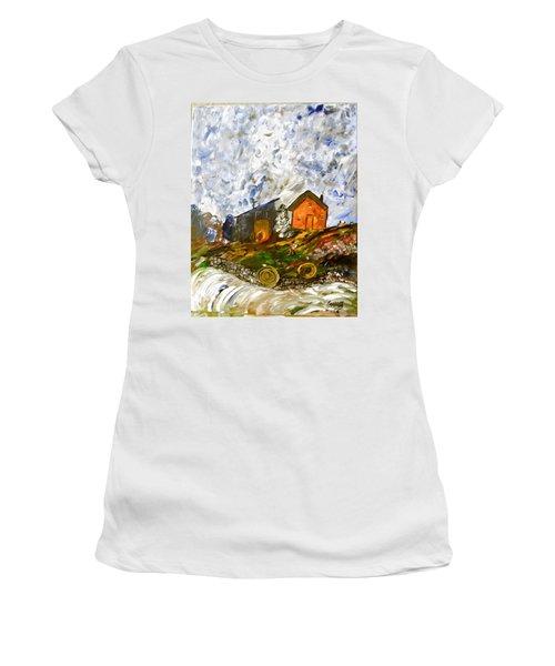 Down On The Farm Women's T-Shirt