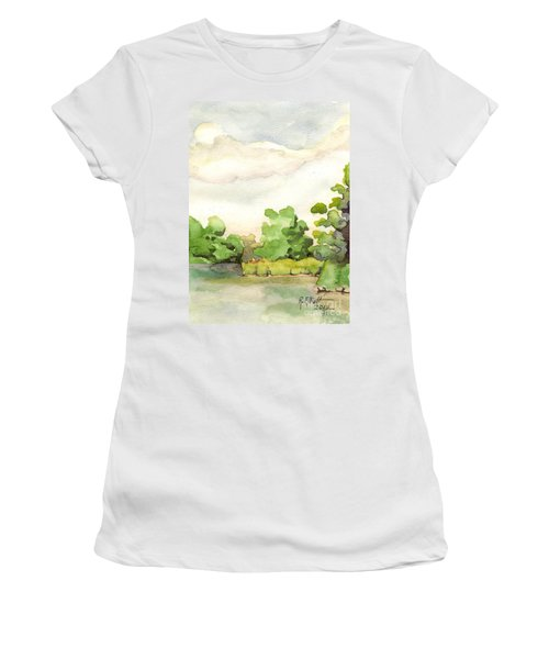 Downriver Napanee Women's T-Shirt (Athletic Fit)