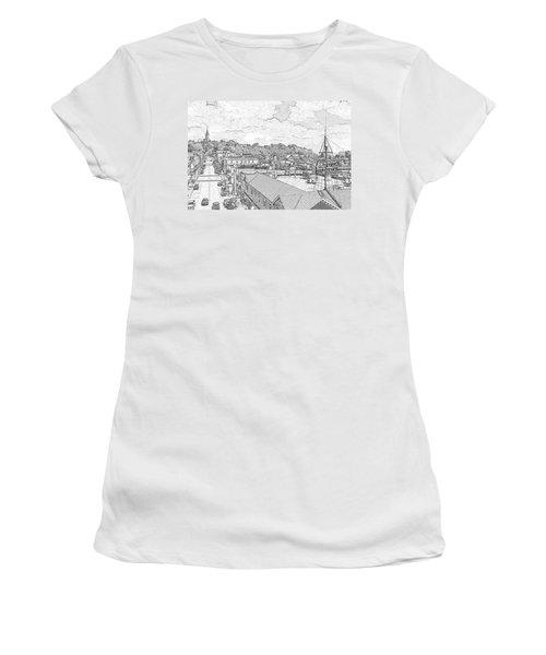 Downtown Port Washington Women's T-Shirt