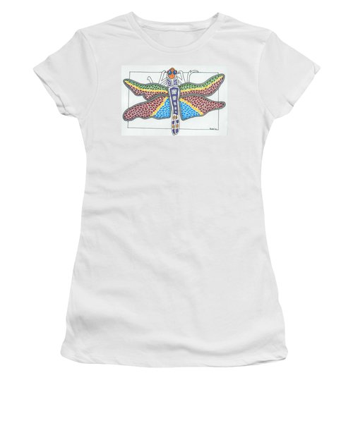 Dragonfly I Women's T-Shirt (Athletic Fit)