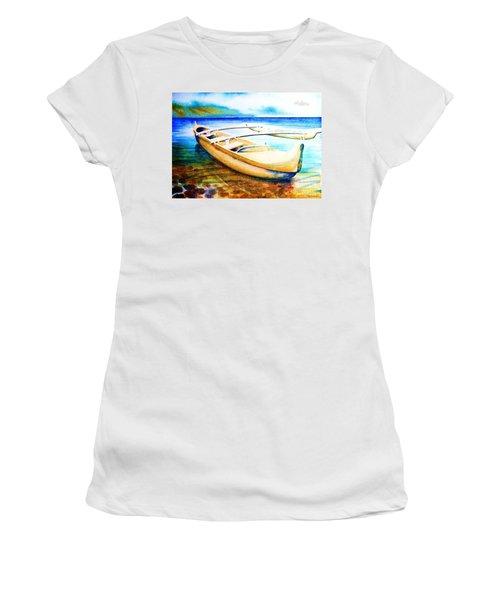 Dreams Of Polynesia Women's T-Shirt (Athletic Fit)