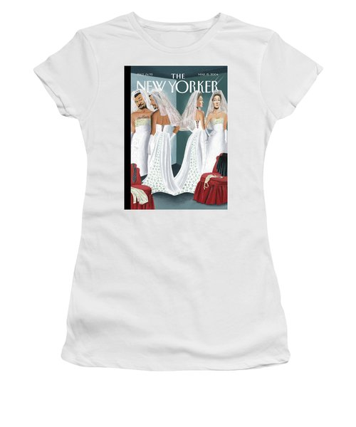Dress Reversal Women's T-Shirt