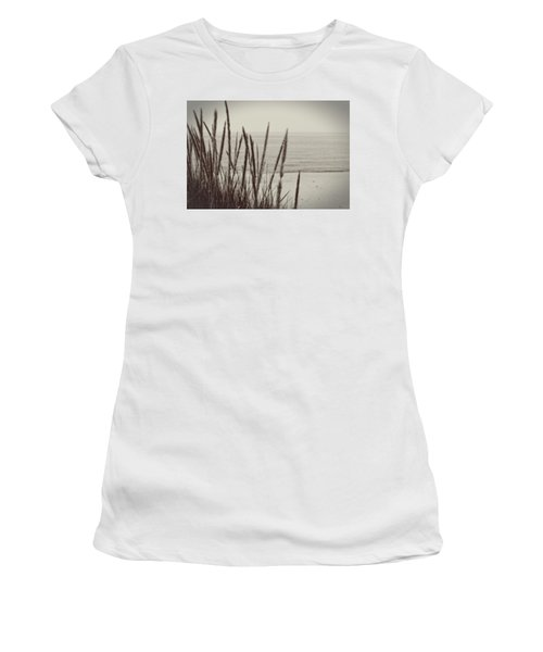 Dune Grass In Early Spring Women's T-Shirt