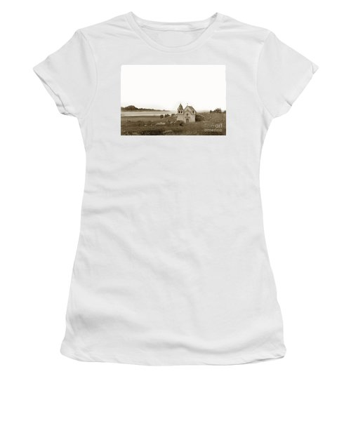 Early Carmel Mission And Point Lobos California Circa 1884 Women's T-Shirt