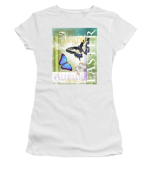 Easter Alleluia Women's T-Shirt (Athletic Fit)