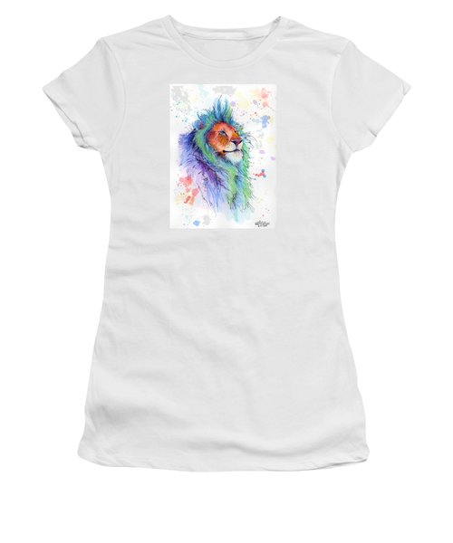 Easter Lion Women's T-Shirt (Athletic Fit)
