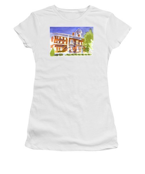 Electric Courthouse Women's T-Shirt