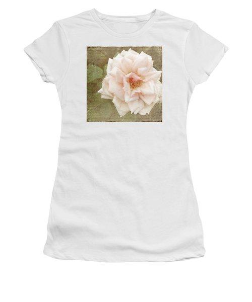 Elie Beauvillain Rose Textured Art Women's T-Shirt