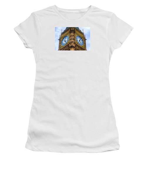 Elizabeth Tower Clock Women's T-Shirt