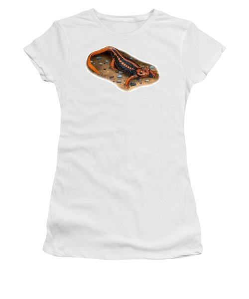 Emperor Newt Women's T-Shirt (Athletic Fit)
