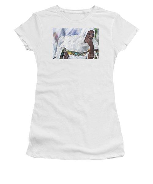 Ethiopian Orthodox Jewish Woman Women's T-Shirt (Athletic Fit)
