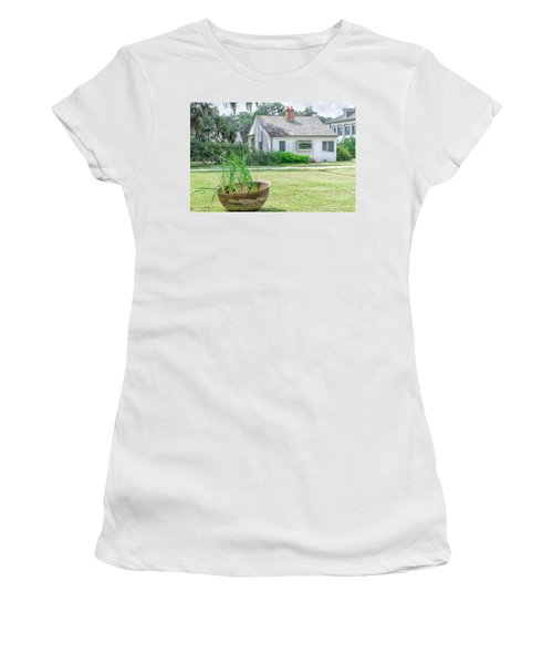 Evergreen Plantation Back Women's T-Shirt